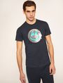 ARMANI EXCHANGE SMILES FROM SPACE SLIM LOGO TEE Logo T-shirt Man f