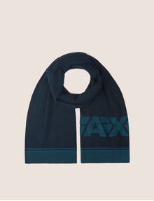 ARMANI EXCHANGE FRACTURED LOGO RECTANGULAR SCARF Scarf [*** pickupInStoreShippingNotGuaranteed_info ***] f
