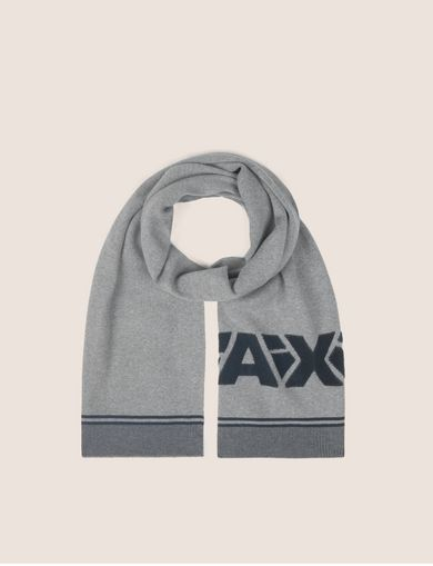 FRACTURED LOGO RECTANGULAR SCARF