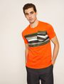 ARMANI EXCHANGE FAUX POCKET SLIM LOGO TEE Graphic T-shirt Man f