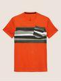 ARMANI EXCHANGE FAUX POCKET SLIM LOGO TEE Non-logo Tee Man r