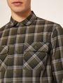 ARMANI EXCHANGE REGULAR-FIT PLAID WORK SHIRT Checked Shirt Man b