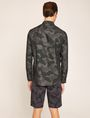ARMANI EXCHANGE REGULAR-FIT GEO CAMO SHIRT Printed Shirt Man e