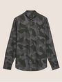 ARMANI EXCHANGE REGULAR-FIT GEO CAMO SHIRT Printed Shirt [*** pickupInStoreShippingNotGuaranteed_info ***] r