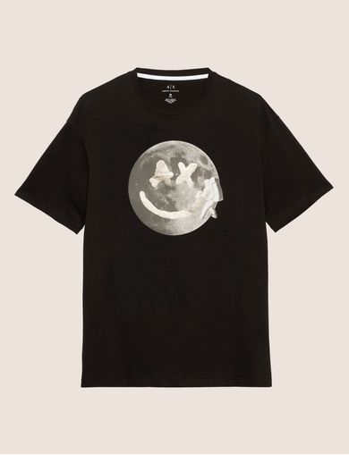 SMILES FROM SPACE SLIM LOGO TEE