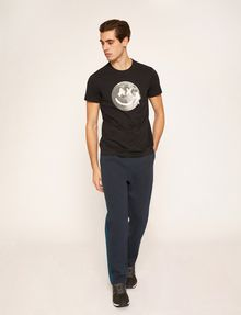 ARMANI EXCHANGE SCHMAL GESCHNITTENES T-SHIRT MIT LOGO SMILES FROM SPACE T-Shirt mit Grafik Herren d