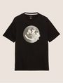 ARMANI EXCHANGE SCHMAL GESCHNITTENES T-SHIRT MIT LOGO SMILES FROM SPACE T-Shirt mit Grafik Herren r