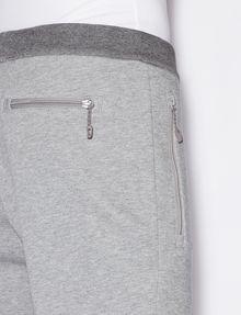 ARMANI EXCHANGE BICOLOR LOGO JOGGER Fleece Trouser Man b