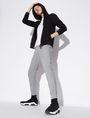 ARMANI EXCHANGE BICOLOR LOGO JOGGER Fleece Pant [*** pickupInStoreShippingNotGuaranteed_info ***] a