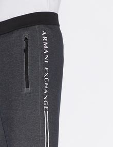 ARMANI EXCHANGE CLASSIC LOGO SIDESEAM SWEATSHORT Shorts Man b