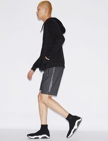 ARMANI EXCHANGE CLASSIC LOGO SIDESEAM SWEATSHORT Shorts Man d