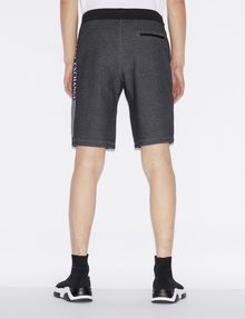 ARMANI EXCHANGE CLASSIC LOGO SIDESEAM SWEATSHORT Shorts Man e