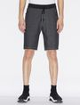 ARMANI EXCHANGE CLASSIC LOGO SIDESEAM SWEATSHORT Shorts Man f