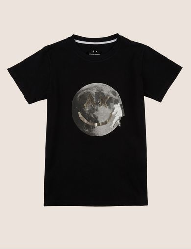 BOYS SLIM-FIT FACE FROM SPACE TEE