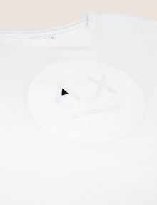 ARMANI EXCHANGE GIRLS A|X EMOJI LOGO TEE Graphic T-shirt [*** pickupInStoreShipping_info ***] d