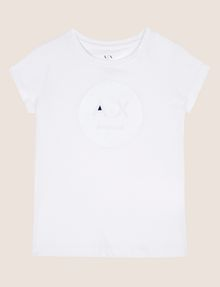 ARMANI EXCHANGE GIRLS A|X EMOJI LOGO TEE Graphic T-shirt [*** pickupInStoreShipping_info ***] f