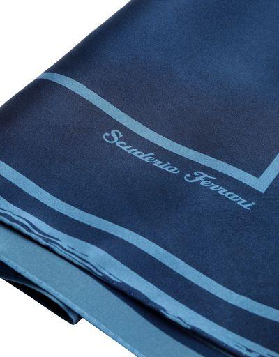 Scuderia Ferrari Online Store - Fular de seda elástica con logotipo Ferrari para mujer - Bandanas