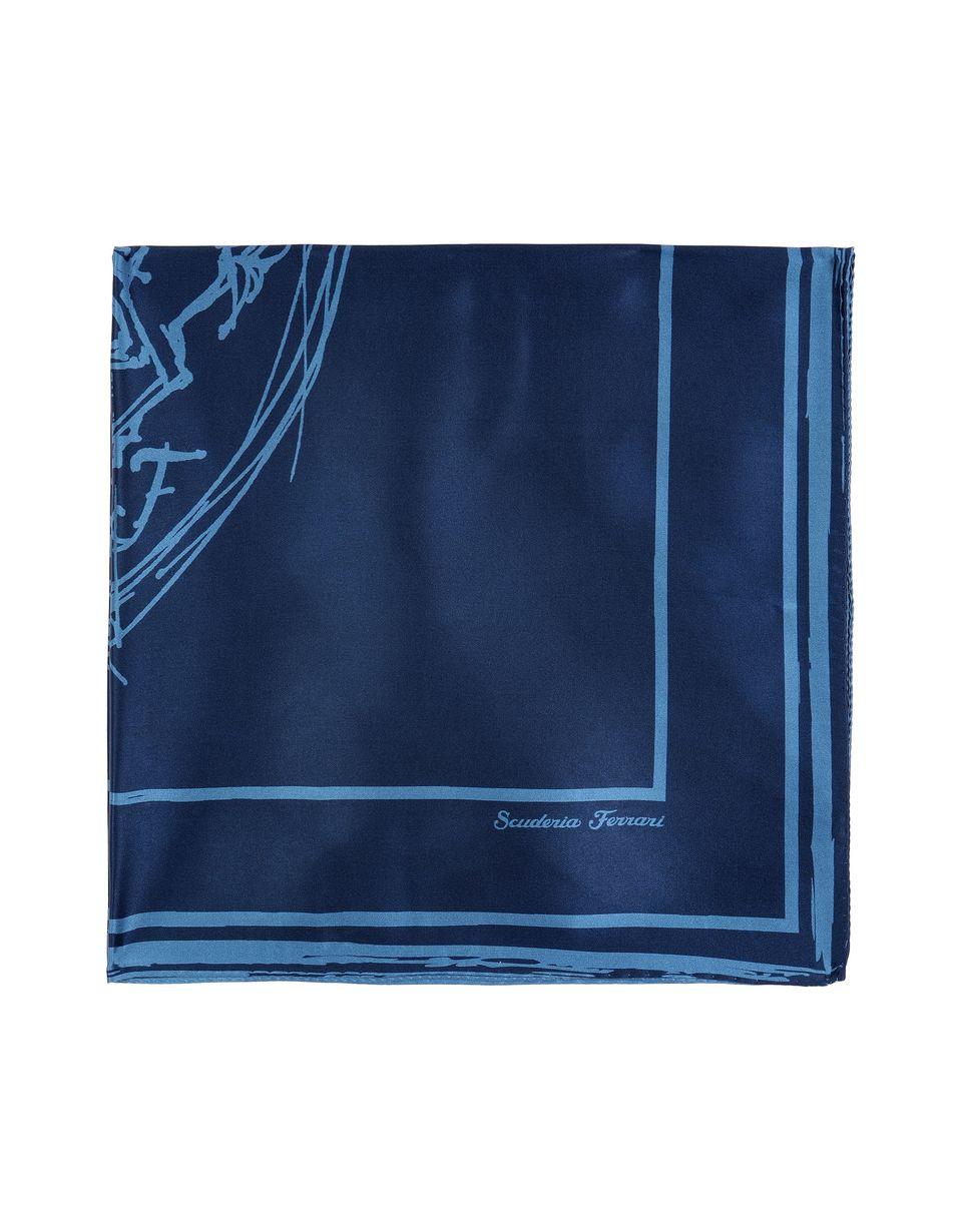 Scuderia Ferrari Online Store - Women's Ferrari silk sketch logo foulard -