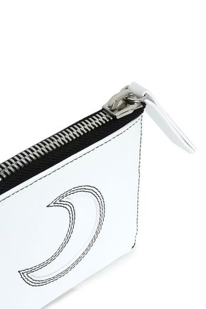 McQ Alexander McQueen Embroidered leather wallet
