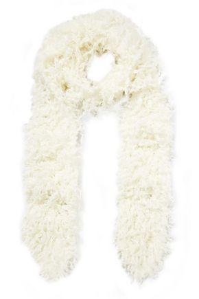 MISSONI Faux shearling scarf