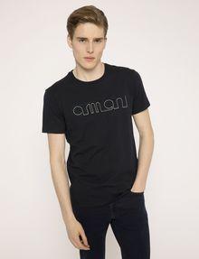 ARMANI EXCHANGE SCHMAL GESCHNITTENES T-SHIRT MIT LOGOSTICKEREI Logo-T-Shirt Herren f