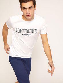 ARMANI EXCHANGE T-SHIRT SLIM CON LOGO RICAMATO T-shirt con logo [*** pickupInStoreShippingNotGuaranteed_info ***] a