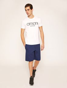 ARMANI EXCHANGE T-SHIRT SLIM CON LOGO RICAMATO T-shirt con logo [*** pickupInStoreShippingNotGuaranteed_info ***] d