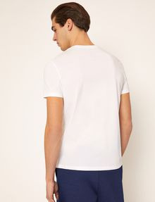 ARMANI EXCHANGE T-SHIRT SLIM CON LOGO RICAMATO T-shirt con logo [*** pickupInStoreShippingNotGuaranteed_info ***] e