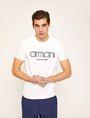 ARMANI EXCHANGE T-SHIRT SLIM CON LOGO RICAMATO T-shirt con logo [*** pickupInStoreShippingNotGuaranteed_info ***] f