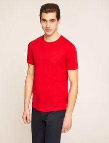 ARMANI EXCHANGE PIMA CREWNECK TEE Solid T-shirt [*** pickupInStoreShippingNotGuaranteed_info ***] f