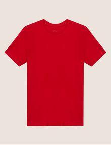 ARMANI EXCHANGE PIMA CREWNECK TEE Solid T-shirt [*** pickupInStoreShippingNotGuaranteed_info ***] r