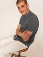 ARMANI EXCHANGE SLIM-FIT AX MICRO-PRINT SHIRT Printed Shirt Man a
