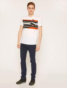 ARMANI EXCHANGE FAUX POCKET SLIM LOGO TEE Graphic T-shirt [*** pickupInStoreShippingNotGuaranteed_info ***] d