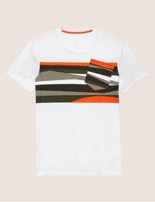ARMANI EXCHANGE FAUX POCKET SLIM LOGO TEE Graphic T-shirt [*** pickupInStoreShippingNotGuaranteed_info ***] r