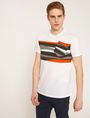 ARMANI EXCHANGE FAUX POCKET SLIM LOGO TEE Graphic T-shirt [*** pickupInStoreShippingNotGuaranteed_info ***] f