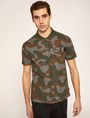 ARMANI EXCHANGE GEO CAMO STENCILED POLO SHORT SLEEVES POLO Man f