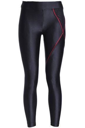 KORAL Mesh-paneled stretch leggings