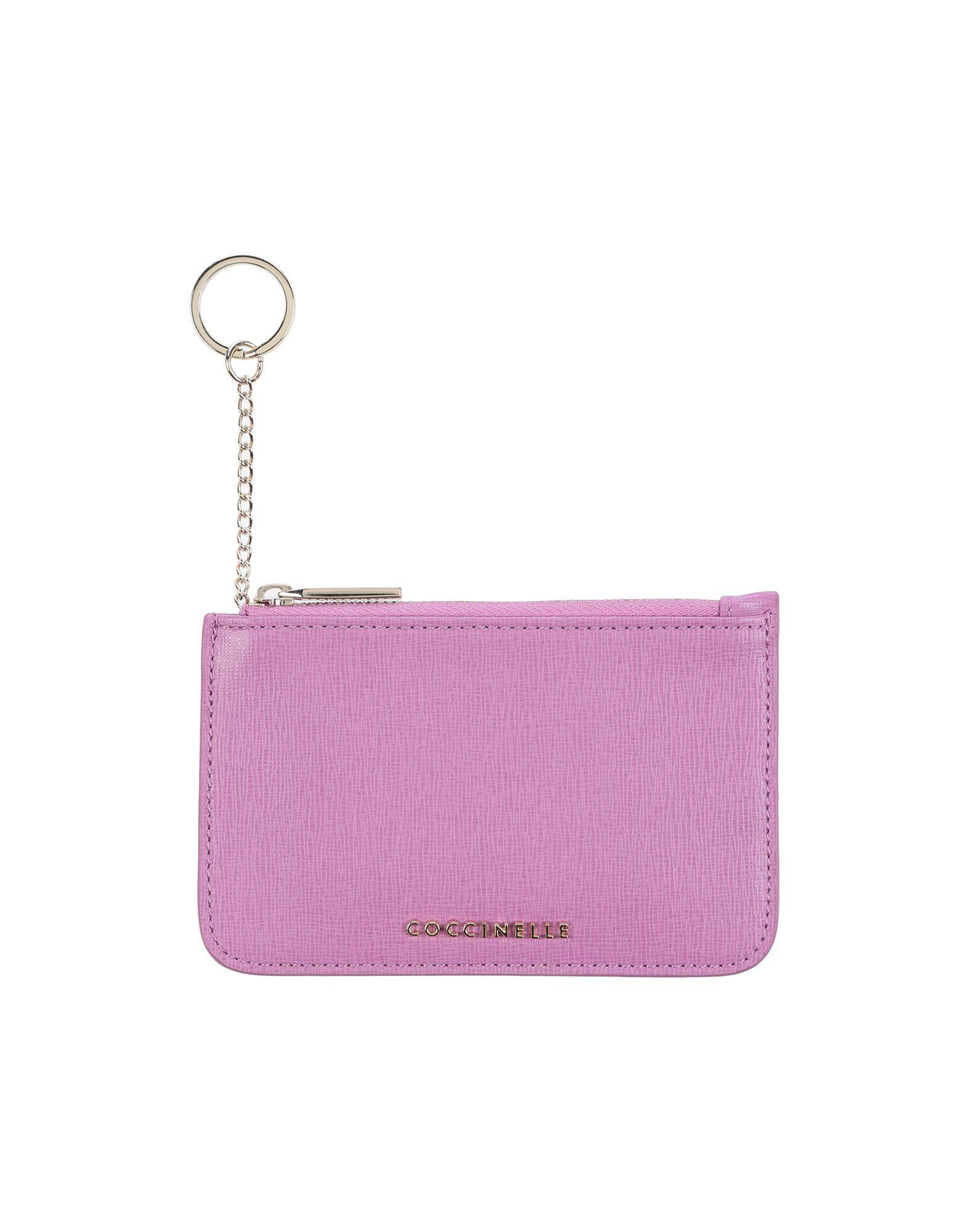 COCCINELLE Кошелек для монет pink dandelion design кожа pu откидной крышки кошелек для карты держатель для samsung j5prime