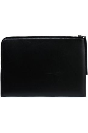 RICK OWENS Leather laptop case