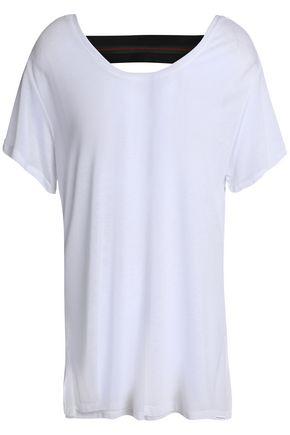 KORAL Cutout Tencel-jersey T-shirt