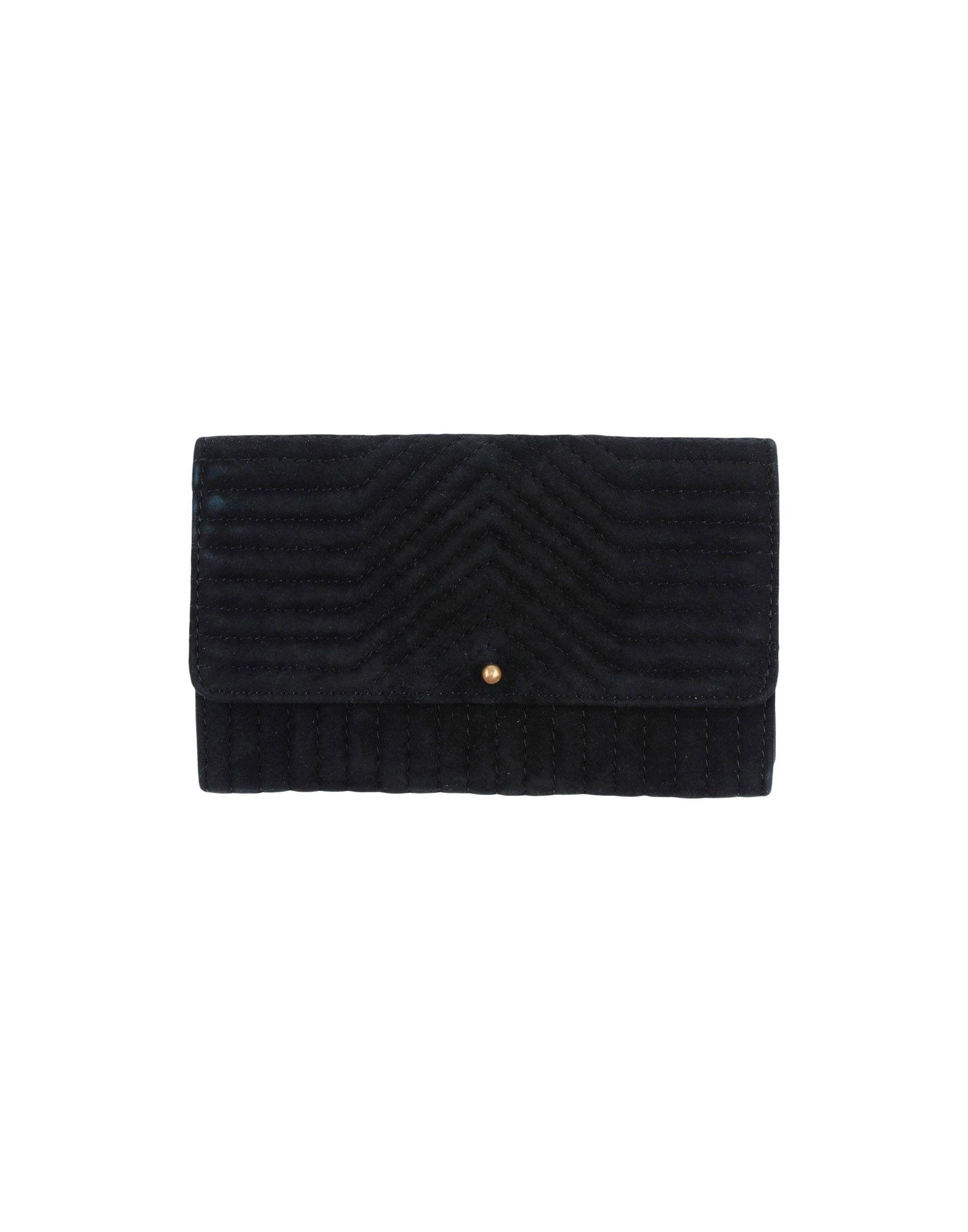 《送料無料》SESSUN レディース 財布 ブラック 革