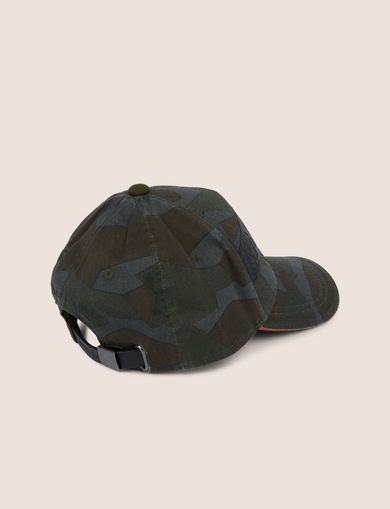 STENCIL LOGO GEO CAMO HAT