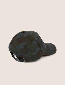 ARMANI EXCHANGE STENCIL LOGO GEO CAMO HAT Hat Man r