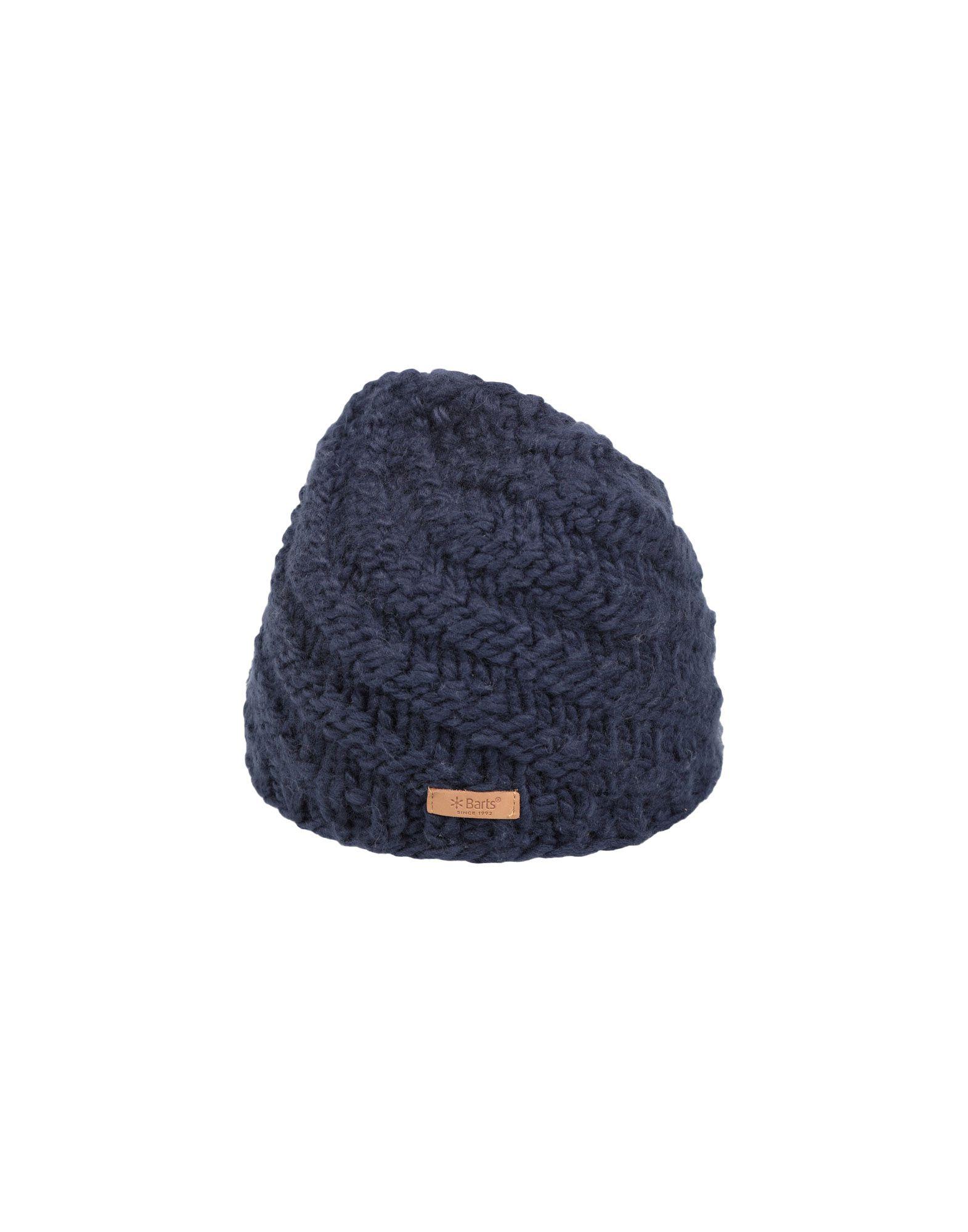 《送料無料》BARTS レディース 帽子 ダークブルー one size アクリル 100%