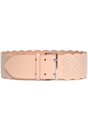 ALAÏA Studded leather belt