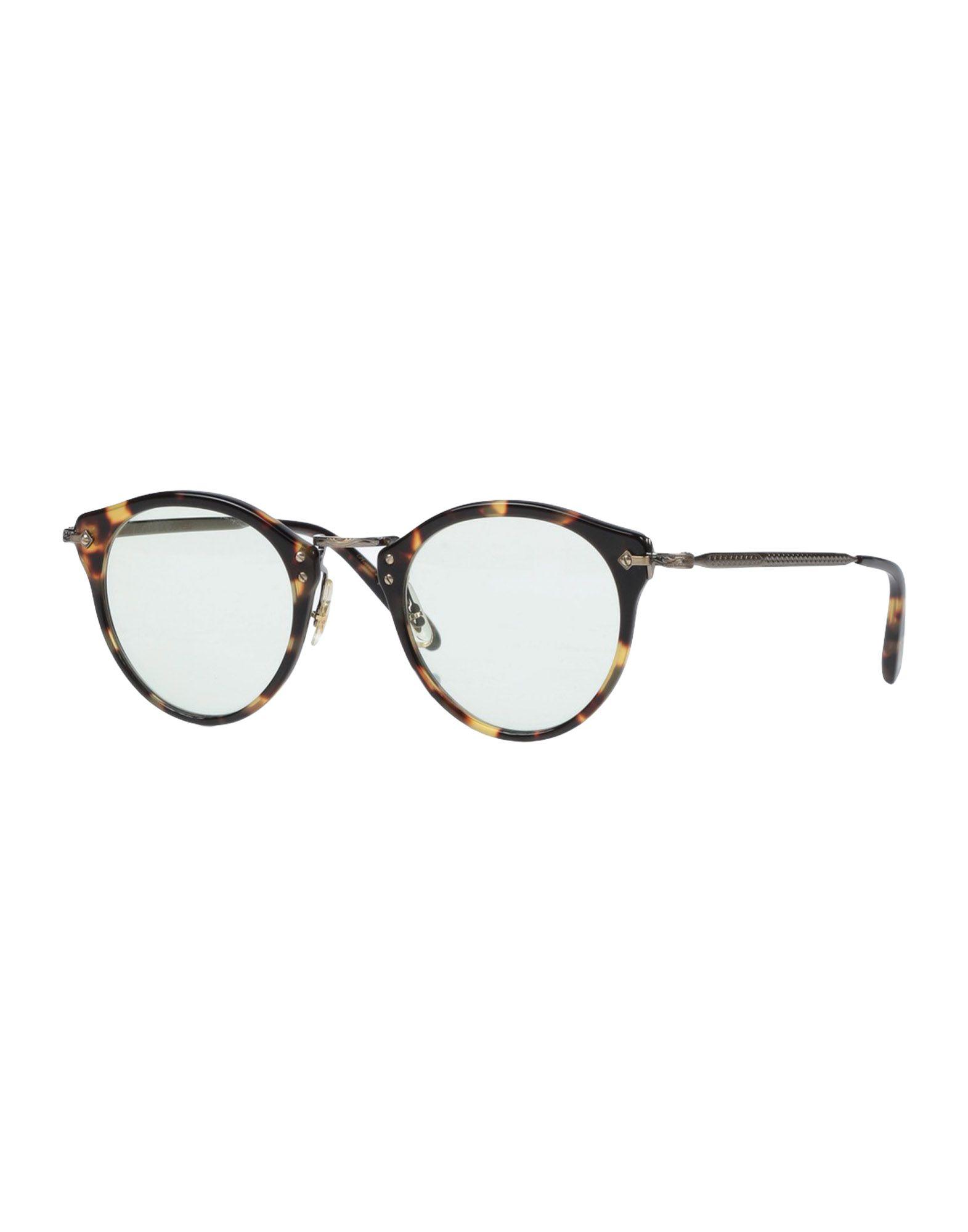 OLIVER PEOPLES Herren Brille Farbe Dunkelbraun Größe 1