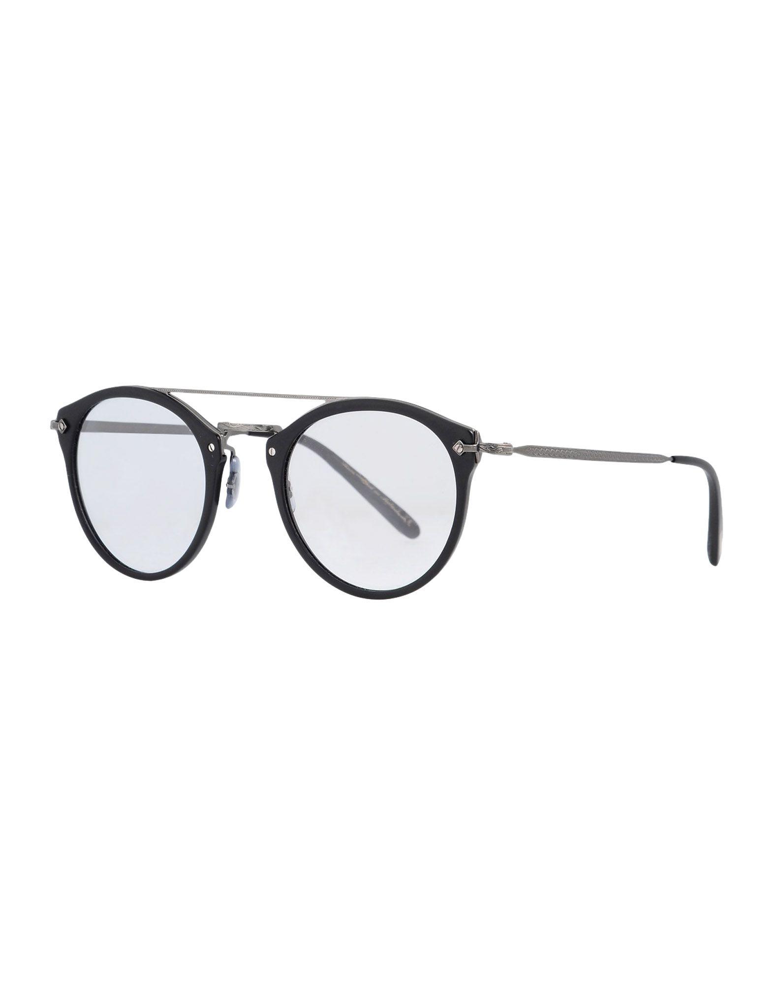OLIVER PEOPLES Herren Brille Farbe Schwarz Größe 1