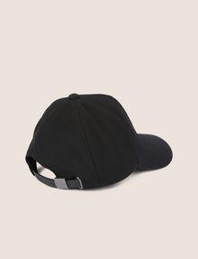 ARMANI EXCHANGE EMBOSSED LOGO MESH PANELED HAT Hat Man r