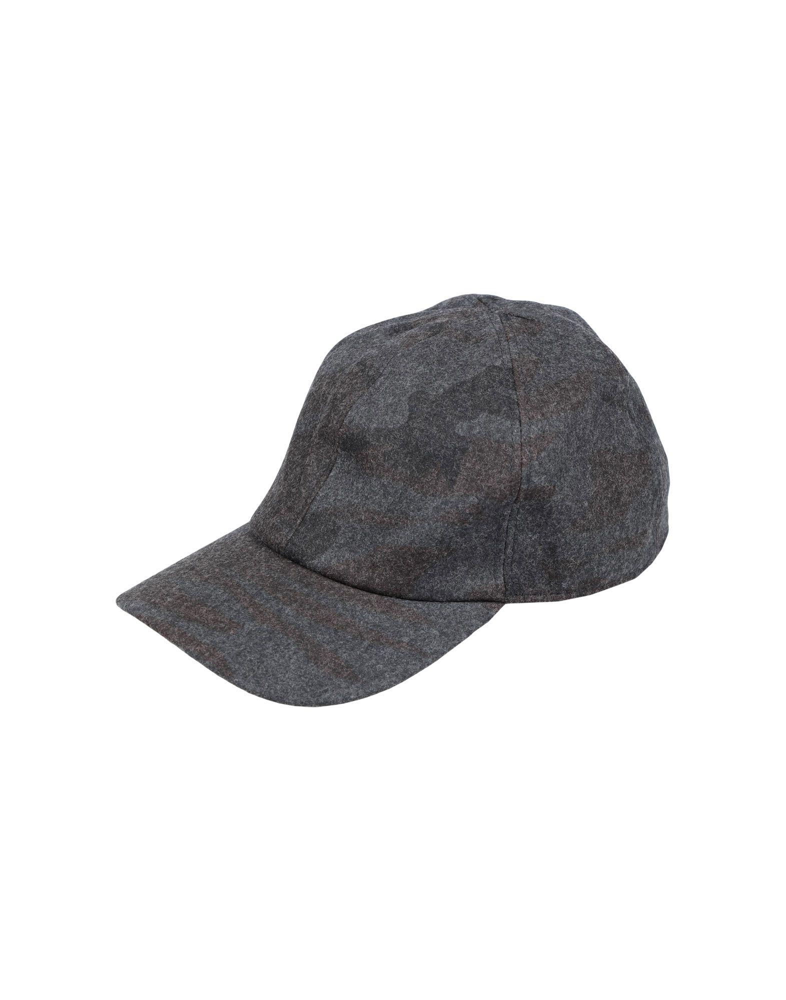 《送料無料》EMPORIO ARMANI メンズ 帽子 スチールグレー 59 ウール 65% / ポリエステル 27% / ナイロン 7% / ゴム 1%