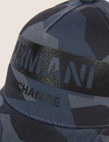ARMANI EXCHANGE STENCIL LOGO GEO CAMO HAT Hat Man d